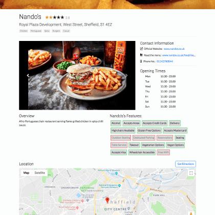 Restaurant Critique 1
